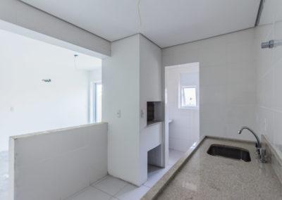 Ap 402 - Cozinha, churrasqueira e lavanderia